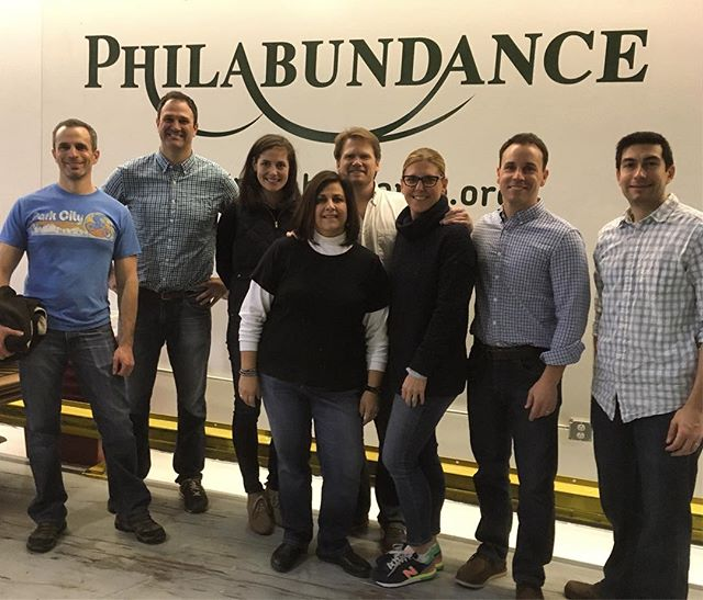 LLR Volunteers at Philabundance